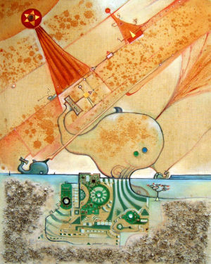 Aquarium techno du poisson désertique
